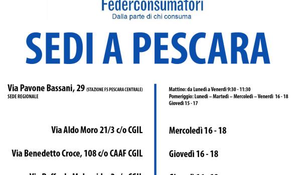 FEDERCONSUMATORI SEDI PESCARA-01